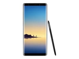 Samsung Galaxy Note8 Smartphone, 64GB - Midnight Black (Unlocked), SM-N950UZKAXAA, 34520629, Cell Phones