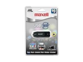Maxell 16GB USB 360 USB 2.0 Flash Drive, 503203, 11105684, Flash Drives