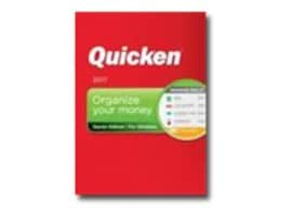 Intuit Corp. Quicken 2017 Starter Edition - Boxed Product, 170026, 33039551, Software - Financial