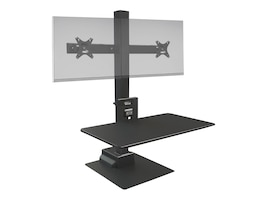 Ergotech Freedom E Stand for Single Display Support, TAA, FDM-E-STAND-2, 36110308, Stands & Mounts - Desktop Monitors