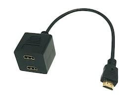 Bytecc BTA-036 HDMI Male to HDMI Female x 2 Adaptor, BTA-036, 12132561, Adapters & Port Converters