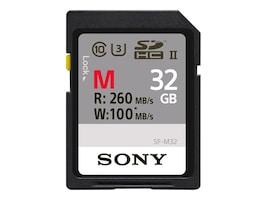 Sony 32GB SDHC UHS-II Flash Memory Card, Class 10, SFM32/T, 31656969, Memory
