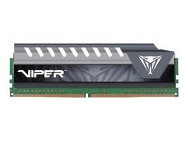 Patriot Memory VIPER ELITE SERIES DDR4 16GB 2400MHZ UDIMM (GREY), PVE416G240C6GY, 38138611, Memory