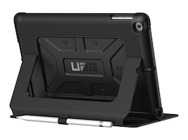 Urban Armor Metropolis Case for iPad 9.7 (2017), Black Black, IPD17-E-BK/BK, 34005678, Carrying Cases - Tablets & eReaders