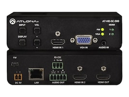 Atlona Three-Input Scaler for HDMI, AT-HD-SC-500, 32155509, Switch Boxes - AV