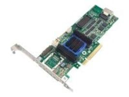 Adaptec 6405 RAID 0 1 10 SATA 512MB PCIe 3.3 12V MD2 LP SFF-8087 1 Internal Controller Kit, 2271100-R, 12603562, RAID Controllers