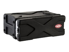 Samsonite Shallow Roto Rack Case, 19 x 10.38 x 5.25, Rack Mount, 1SKB-XRACK3, 5747461, Carrying Cases - Other