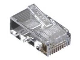 Black Box Cat5e Modular Plug, Unshielded, 100-Pack, C5E-MP-U-100PAK, 12496736, Cable Accessories