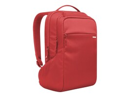 Incipio Incase Icon Slim Pack 15.6 Laptop Backpack, Red, CL55537, 32635810, Carrying Cases - Notebook
