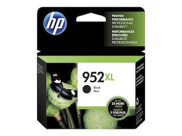 HP 952XL (F6U19AN#140) Black Original Ink Cartridge, F6U19AN#140, 31583481, Ink Cartridges & Ink Refill Kits