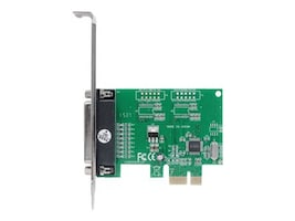 Manhattan DB25 port IEEE 1284 Parallel PCI Express Card, 152099, 34770100, Controller Cards & I/O Boards