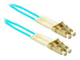 ENET LC-LC 50 125 OM3 Multimode Duplex Fiber Cable, 10m, LC2-10G-10M-ENC, 38001640, Cables