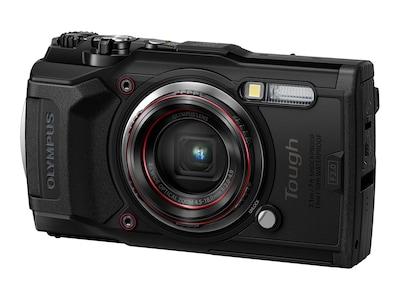 Olympus Tough TG-6 Digital Camera, Black, V104210BU000, 37677980, Cameras - Digital