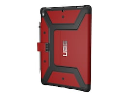 Urban Armor Metropolis Case for 10.5 iPad Pro, Magma Silver, IPDP10.5-E-MG, 34133522, Carrying Cases - Tablets & eReaders