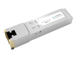 Axiom 1000Base-TX SFP 100m RJ45 Copper Transceiver (Cisco SFP-GE-T), SFP-GE-T-AX, 10170732, Network Transceivers