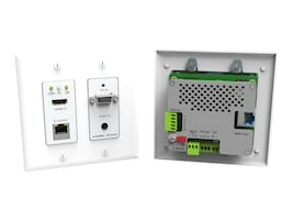 Kramer Active Wall Plate, HDMI VGA RJ-45 Serial Audio, WP-5VH2, 25113600, Premise Wiring Equipment