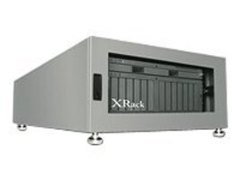 Gizmac XRackPro2 4U, Noise Reduction Enclosure, Grey, XR-NRE2-4U-US, 7691529, Rack Mount Accessories