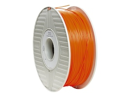 Verbatim Orange 1.75mm 1kg PLA 3D Filament, 55255, 30788329, Printer Supplies - 3D