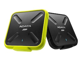 A-Data 256GB SD700 External Solid State Drive - Yellow, ASD700-256GU3-CYL, 33640207, Solid State Drives - External