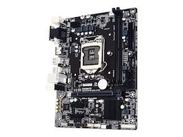 Gigabyte Technology GA-H110M-S2H GSM Main Image from Right-angle