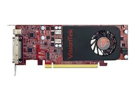 VisionTek Radeon 7750 1GB DDR3 5M VHDCI 4x DVI-D miniDP Graphics Card, 900669, 17016391, Graphics/Video Accelerators