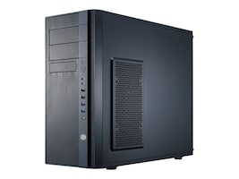 Cooler Master Chassis, N400 MT microATX 8x3.5 Bays 2x5.25 Bays 7xSlots 1xFan No PSU, Black, NSE-400-KKN2, 16168781, Cases - Systems/Servers