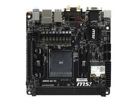 Microstar Motherboard, Mini-ITX AMD A88X FM2+ Athlon- A-Series Max.32GB DDR3 4xSATA PCIe GbE, A88XI AC V2, 20935153, Motherboards