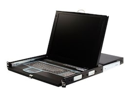 StarTech.com 1U 17 Rackmount LCD Console with 16-Port IP KVM Switch, CABCONS1716I, 8643684, KVM Displays & Accessories