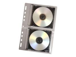 Fellowes CD Looseleaf Binder Sheets (10-pack), 95304, 418152, CD/DVD Accessories