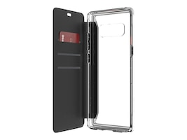 Griffin Survivor Clear Wallet Case for Samsung Galaxy Note 8, Clear, GB43817, 34588623, Carrying Cases - Phones/PDAs
