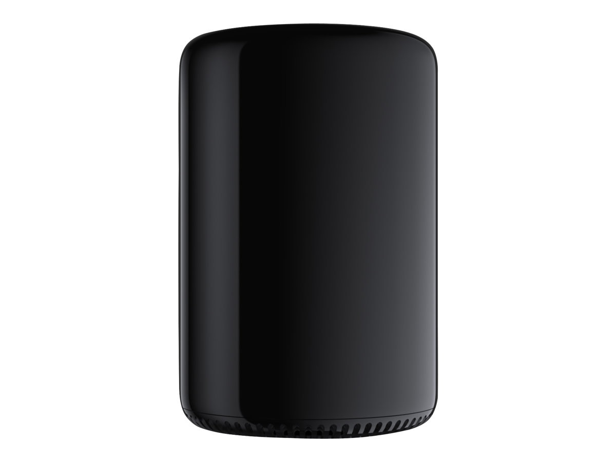 Apple Mac Pro 6C 3.5GHz Xeon 16GB(4x4GB) 256GB Flash 2xFireProD500 2xGbE ac BT, MD878LL/A, 16400789, Desktops - Mac Pros