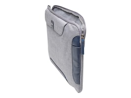 Brenthaven Collins Sleeve Plus for Microsoft Surface Pro 4, Cloud Gray, 1972, 35044214, Carrying Cases - Tablets & eReaders