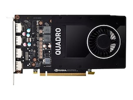 HP NVIDIA Quadro P2200 Graphics Card, 5GB GDDR5X, 6YT67AT, 37473901, Graphics/Video Accelerators