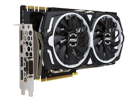 Microstar NVIDIA GeForce GTX 1070 Ti PCIe 3.0 Graphics Card, 8GB GDDR5, G1070TAR8, 35249228, Graphics/Video Accelerators