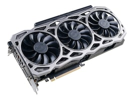 eVGA GeForce GTX 1080 Ti FTW3 Gaming Accelerator, 11G-P4-6696-KR, 34018399, Graphics/Video Accelerators