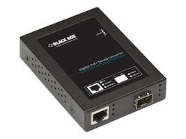 Black Box GbE PoE+ SFP Media Converter, LPS535A-SFP, 34308783, Network Transceivers