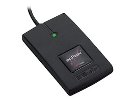 RF IDeas PCPROX 82 Series HID iClass ID USB Reader, Black, RDR-7082BKU, 17758740, PC Card/Flash Memory Readers