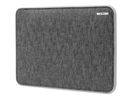 Incipio Incase Icon Sleeve for 15 MacBook Pro with Retina Display,Heather Black Gray, CL60642, 32621207, Carrying Cases - Notebook