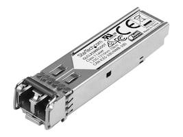 StarTech.com Gigabit Fiber 1000Base-LX SFP SM LC Transceiver (Cisco GLC-LX-SM-RGD), GLCLXSMRGDST, 33607001, Network Transceivers