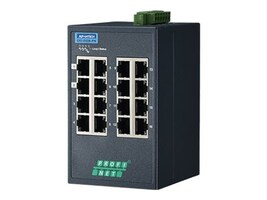 Quatech Advantech EKI-5526-PN DIN RM WM Managed Switch 16xFaE 1xPSU, EKI-5526-PN-AE, 35165471, Network Switches