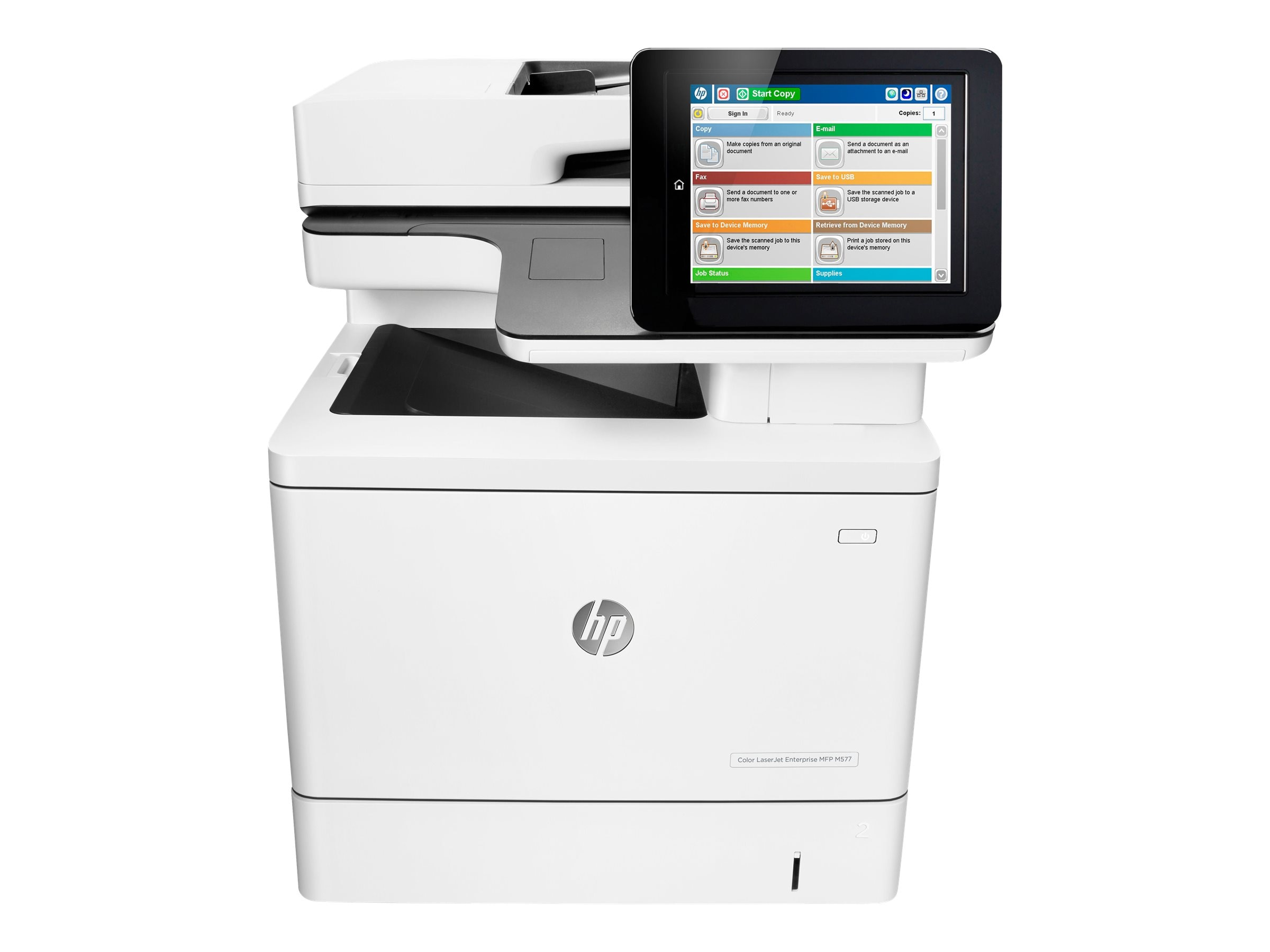 Buy HP Color LaserJet Enterprise MFP M577dn at Connection
