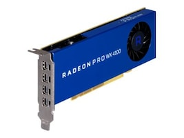 HP Radeon Pro WX 4100 Low-Profile Graphics Card, 4GB GDDR5, Z0B15AA, 35438432, Graphics/Video Accelerators