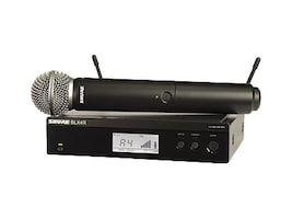 Shure BLX24 SM58 Handheld Wireless System, J10 Frequency Band, BLX24R/SM58-J10, 35262983, Microphones & Accessories