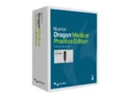 Nuance Dragon Medical Practice Edition 4.0 with PowerMic III, A709A-X97-4.0, 35153453, Software - Voice Recognition