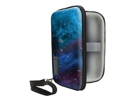 Accessory Genie Hard-Shell Electronics Carrying Case, Galaxy, GRHS500100GAEW, 36551007, Carrying Cases - Other