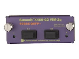 Extreme Networks Summit X460-G2 VIM-2q 40Gb LAN Module, 16710, 31053447, Network Adapters & NICs