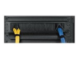 Eaton 1U Cable Pass-Thru Blanking Panel w  Brush Strip, CMBPBRSH1U, 35644391, Rack Mount Accessories
