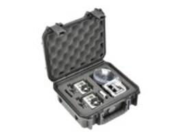 Samsonite GoPro Pro AV Case, Custom Foam for (2) Cameras, 3I0907-4-012, 15288633, Carrying Cases - Camera/Camcorder