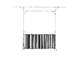 Da-Lite Skirt Drape for Fast-Fold Projection Screen, UV, 6' x 8', 36725, 12976422, Projector Screen Accessories