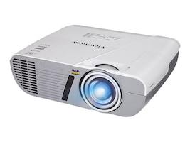 ViewSonic PJD6552LWS WXGA DLP Projector, 3200 Lumens, White, PJD6552LWS, 18587372, Projectors